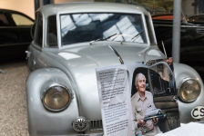 17. - 18.8. - Legendary Tatra 87 will be displayed in Centre for Building Heritage of NTM in Plasy