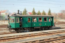 "22. 5. 2019 – NTM – M 124.001 ""Komarek"" - steam locomotive rides for public"